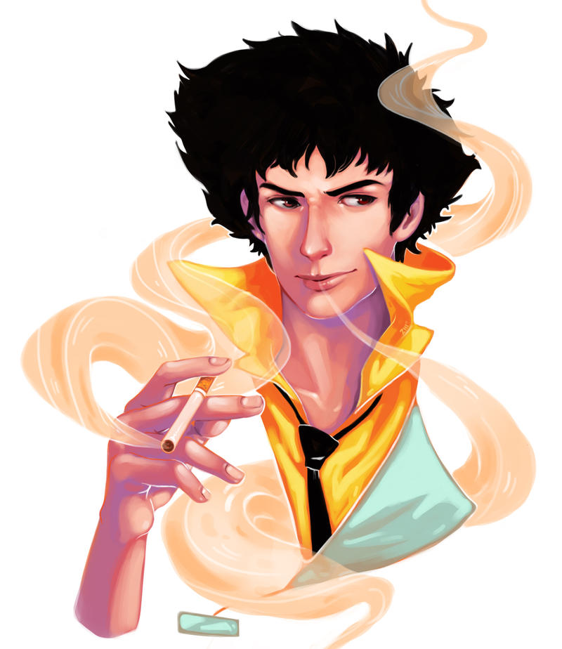 Spike Spiegel by limzhilin