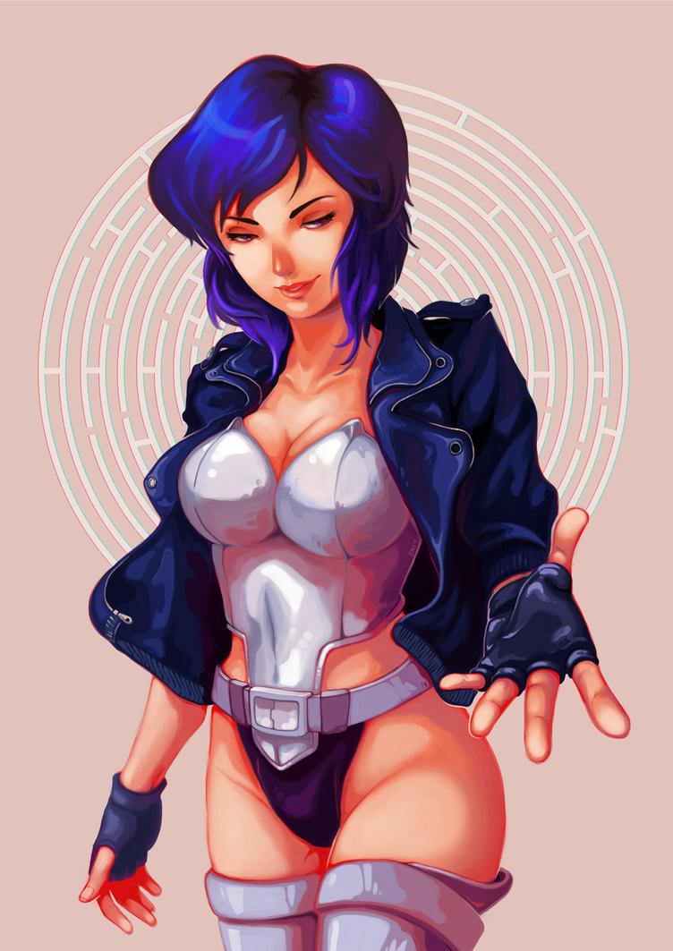 Major Kusanagi by limzhilin