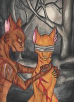 Firestar's True Death by WarriorapprenticeKat