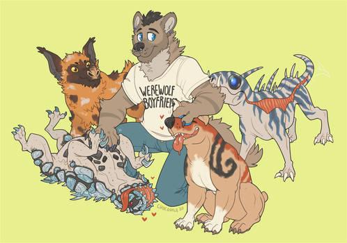 [C] Too many puppies
