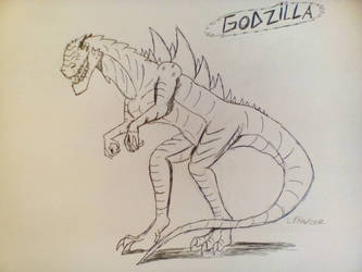 Godzilla 1998 by Invaderskull1995