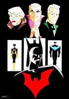 Batman Beyond and Classic Bats by Captain-Batman