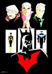Batman Beyond and Classic Bats