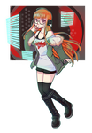 Patreon Prize #16 Futaba Sakura (+Speedpaint) by DizzyAlyx