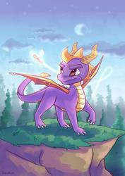 Spyro the Dragon by DizzyAlyx