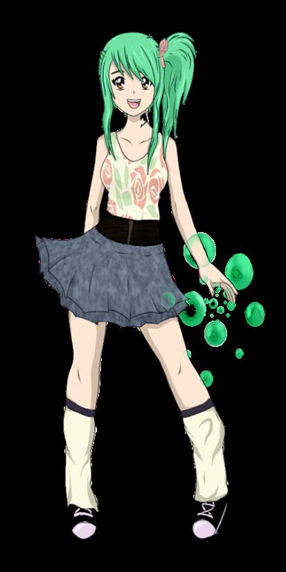 Anime Characters Full Body : Naomi full body by kurokawatami on deviantart
