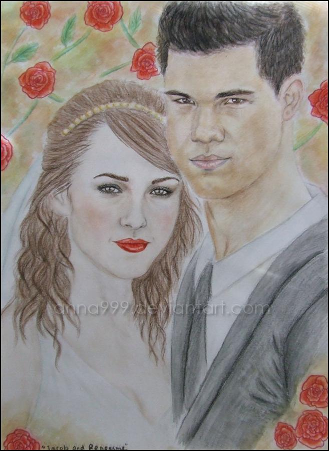 Jacob And Renesmee Drawing