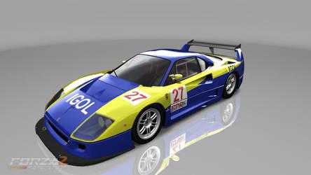 SCUD RACE F40