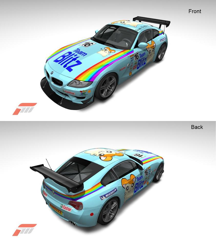 Bmw Z4m Coupe: Team Blitz BMW Z4M By Latios765 On DeviantArt