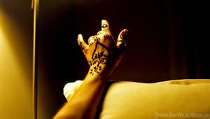 Henna Hand Two