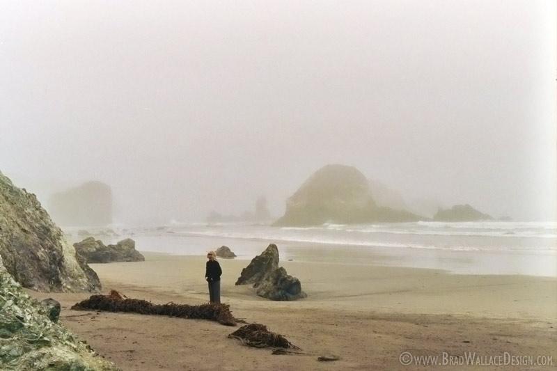 Fog in Big Sur, CA Two