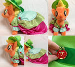 Season 5 Applejack Gala Plush - SOLD