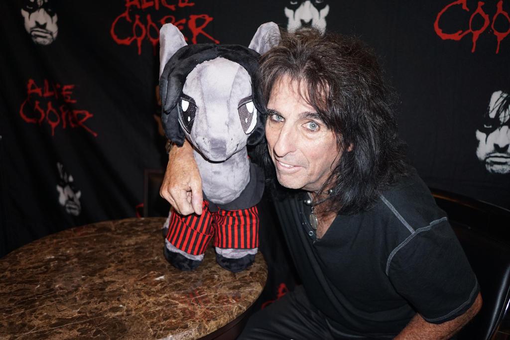 Alice Cooper and 'Night Terror' Pony Plush