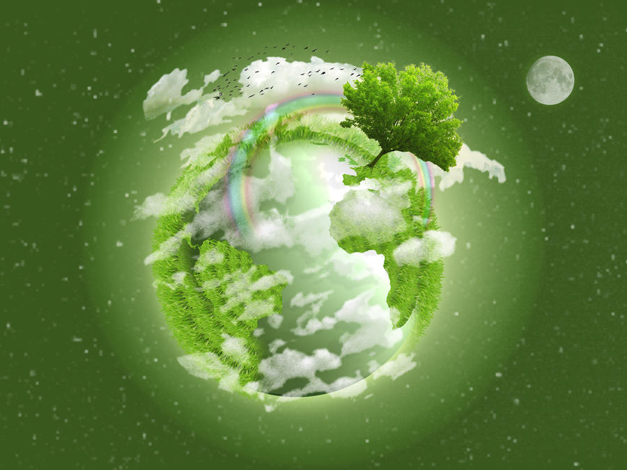 Mother Earth by BringByBoringBrick