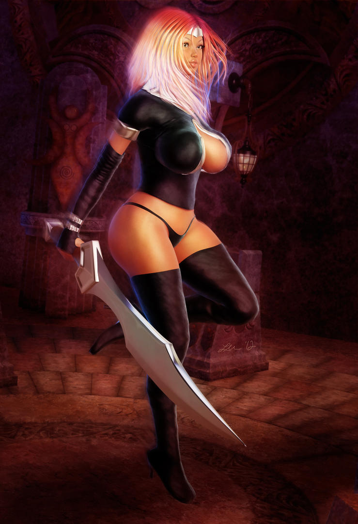 Warrior Woman by larsmidnatt