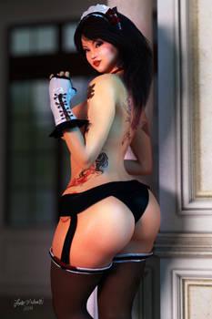 Topless Maid