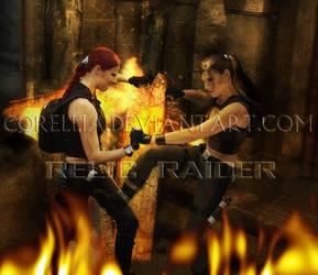 TRU Croft Manor Fight by RelicRaider