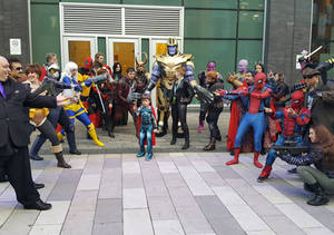 Infinity War at Hal-con 2018