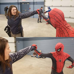 Winter Soldier VS Spiderman Civil War