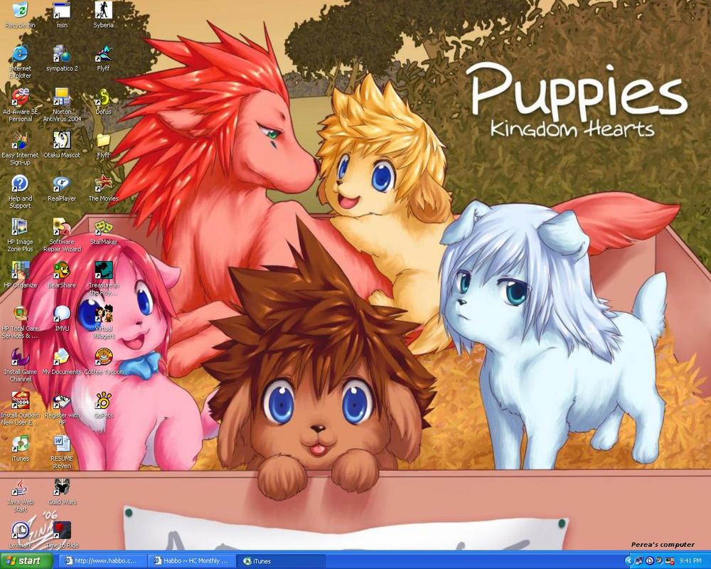 Awwww, Puppies by perea