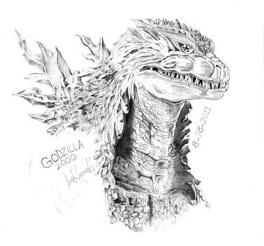 Godzilla 2000 by AmirKameron