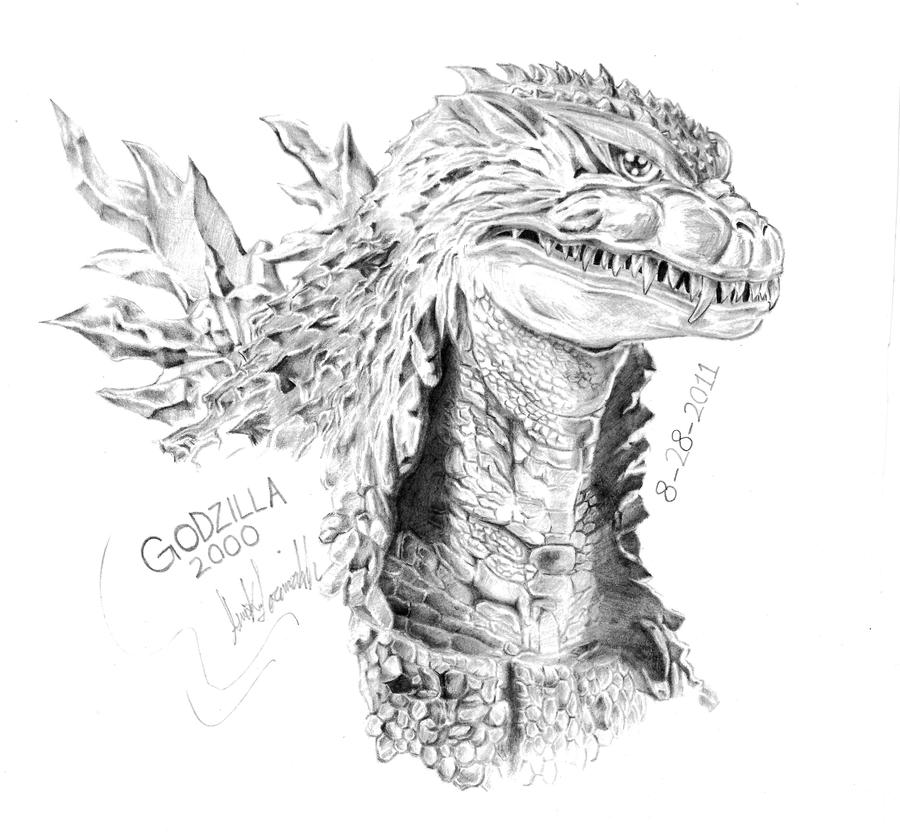 godzilla 2000 by amirkameron on deviantart