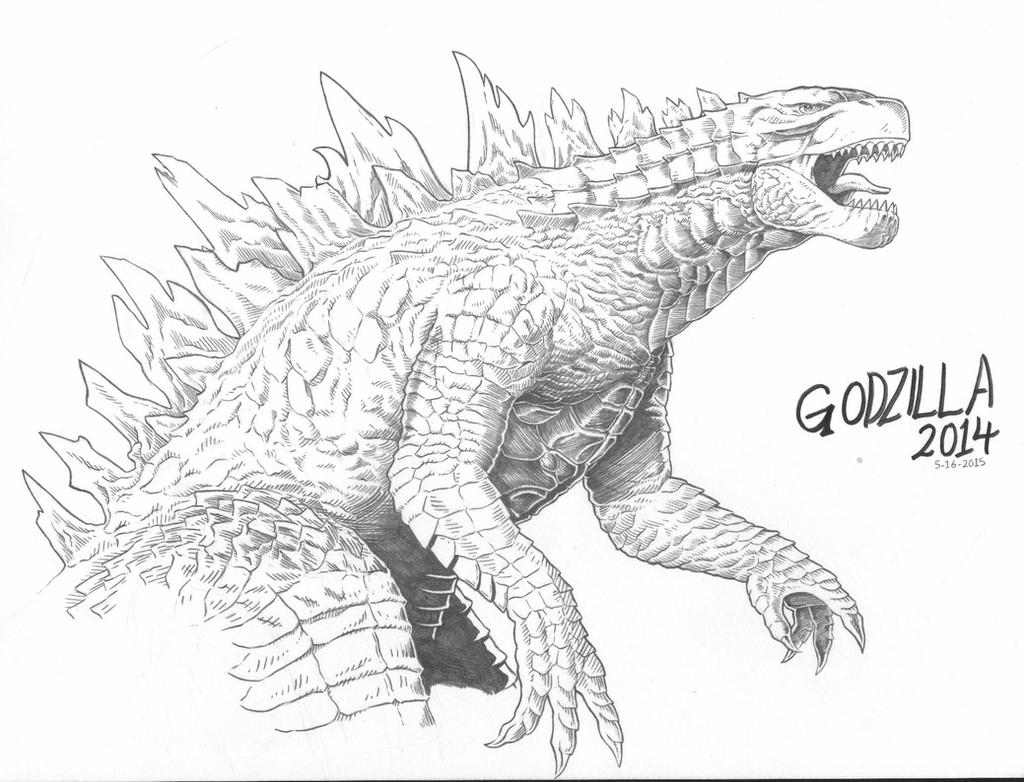 Godzilla 2014 By Amirkameron On Deviantart