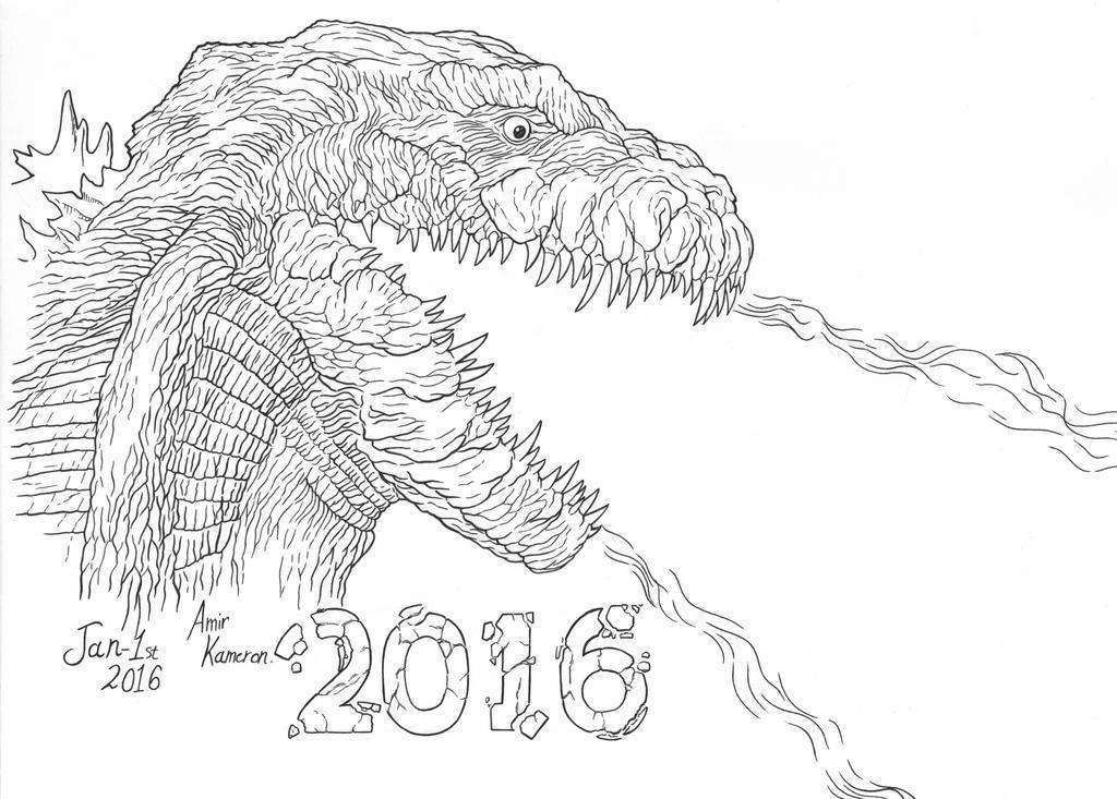 Godzilla 2016 By AmirKameron On DeviantArt