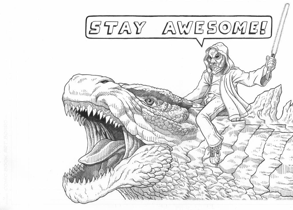 Stay Awesome by AmirKameron