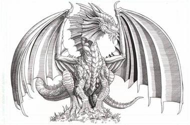 The Red Dragon by AmirKameron
