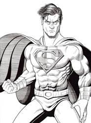 Superman 80th by AmirKameron