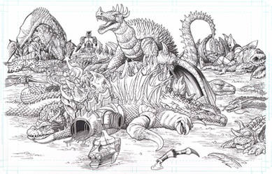 Anguirus King of the monsters
