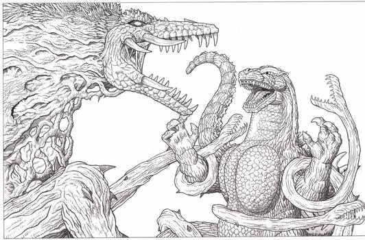 Godzilla vs Biollante 30th anniversary tribute