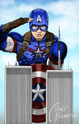Captain America  Twin Towers
