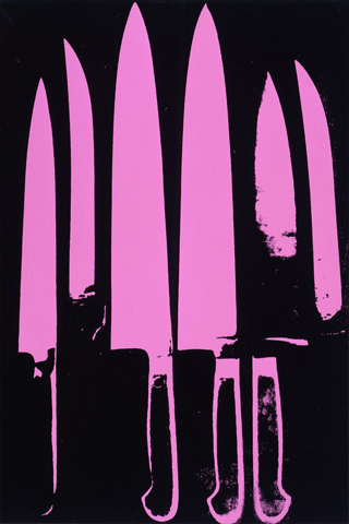 Andy Warhol Knives Iphone Wall By Cucugnoc On Deviantart