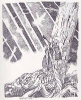 Sealed to the Sacred Tree by hesxmyxinu