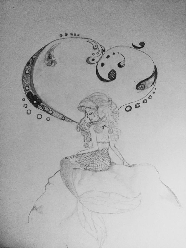 Mermaid  by CarboneMartina333