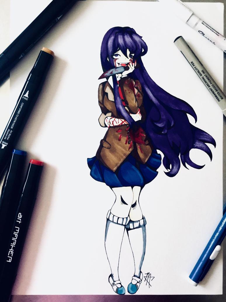 Yuri (very graphic viewer discretion is advised) by CarboneMartina333