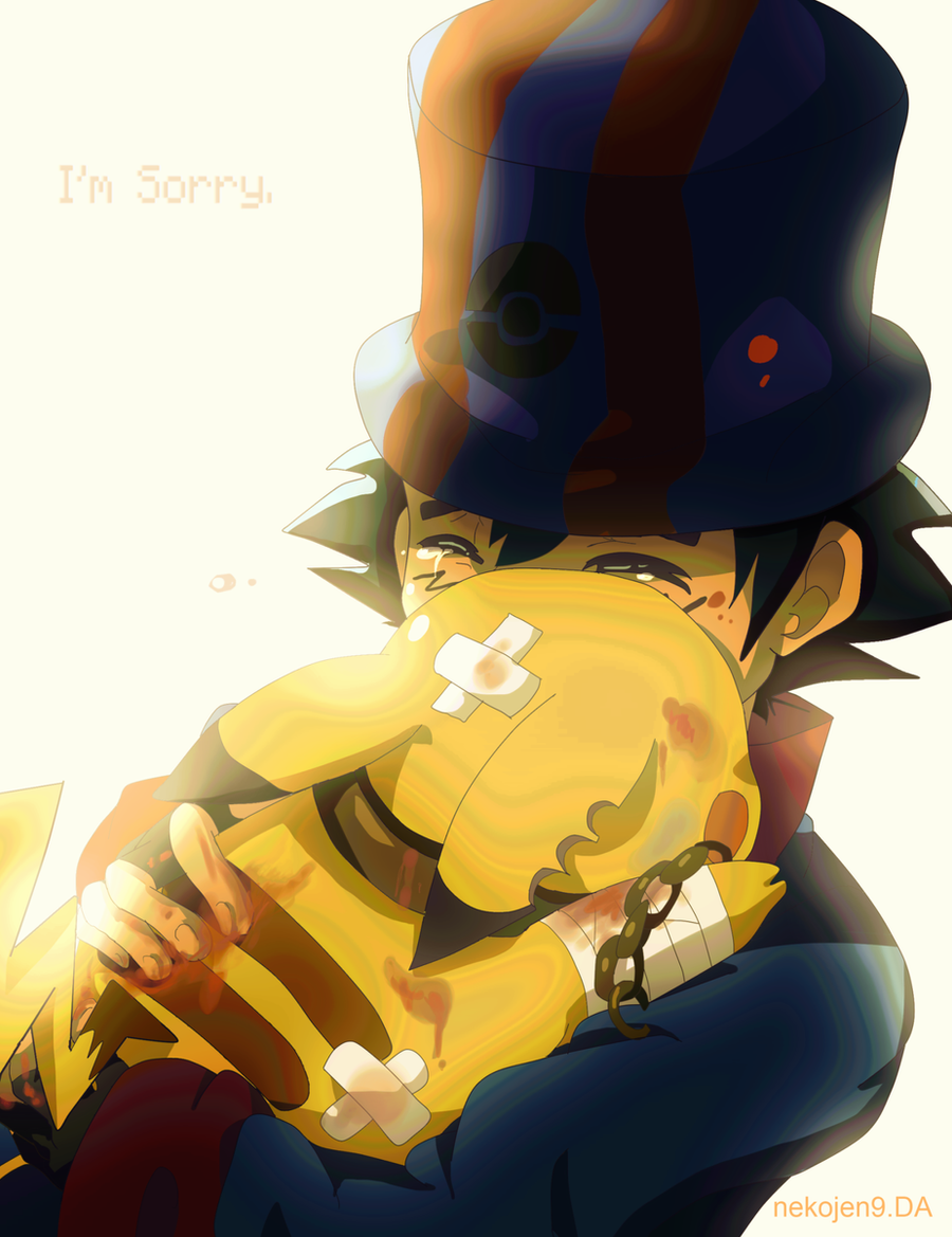 I'm Sorry. by nekojen9