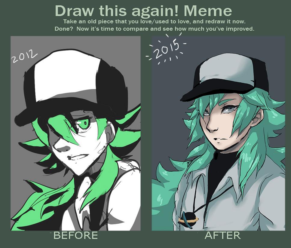 [draw this again] N harmonia by nekojen9