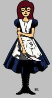 Daria vs. Alice by Cerberus071984