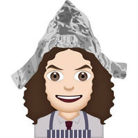 Weird Al Yankovic Foil Emoji by coffeestained