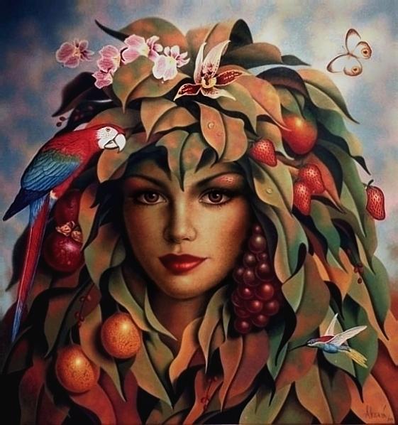 CHLORIS by LEONALEGRIA