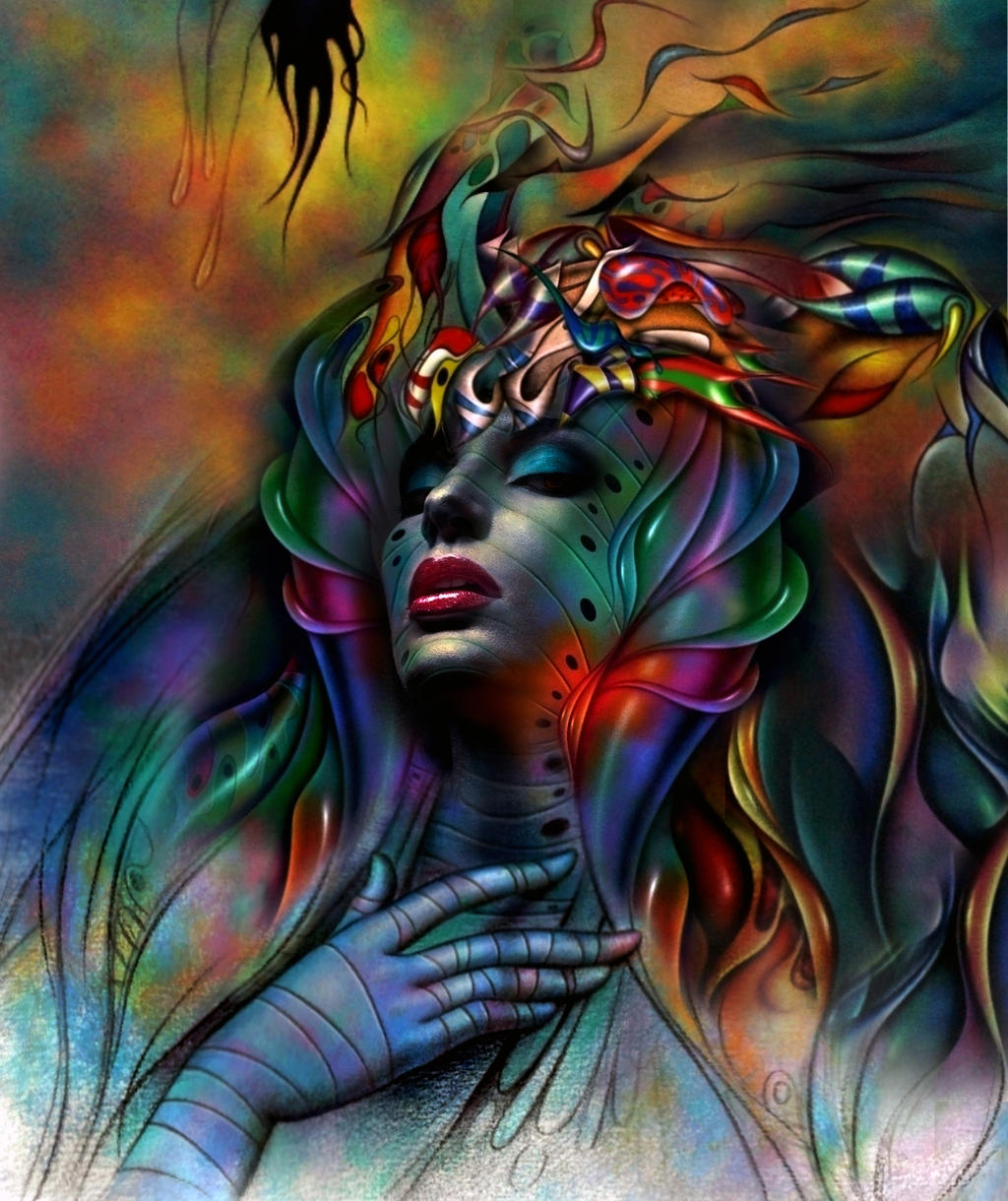 SALAMANDER by LEONALEGRIA