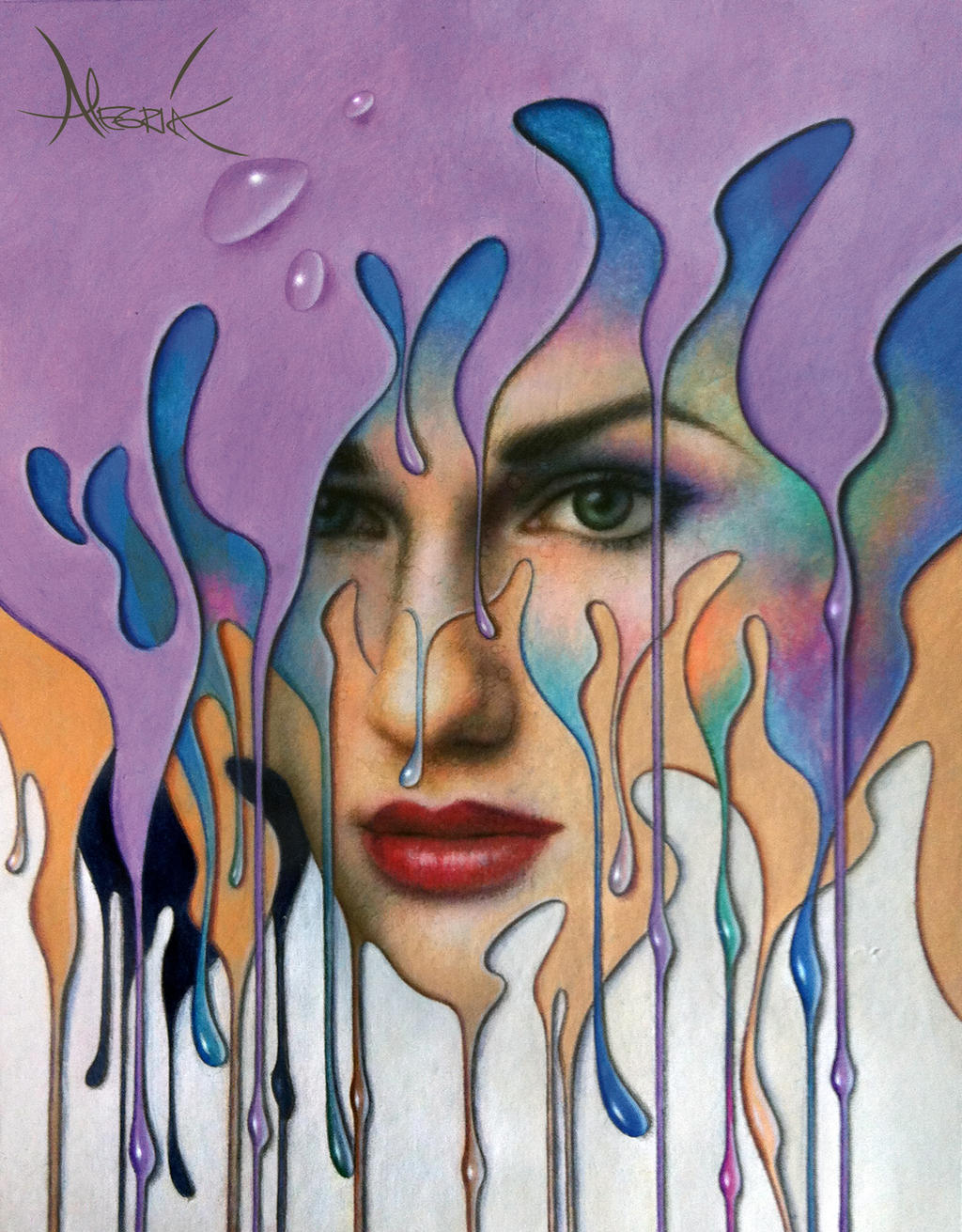 FLUID VISION by LEONALEGRIA