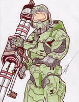 The Master Chief by birdboy100