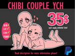 [OPEN UNLIMITED SLOTS] CUTE CHIBI COUPLE YCH