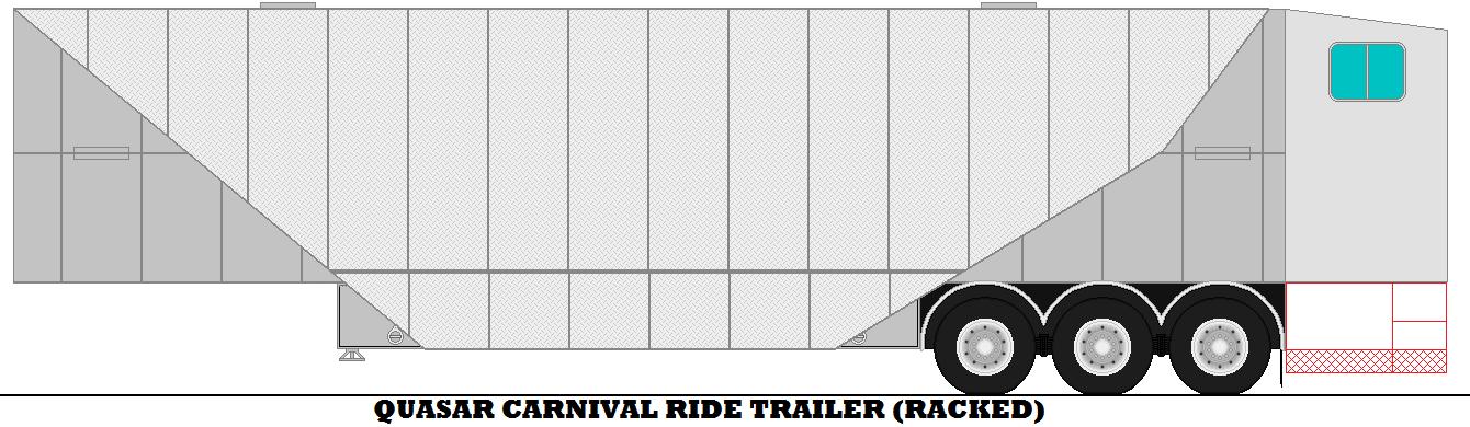 Quasar Carnival Ride Trailer. by mcspyder1