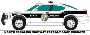 North Carolina Highway Patrol Dodge Charger