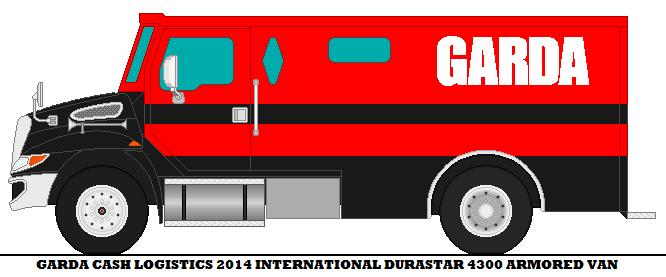 Garda Cash Logistics 2014 International Durast by mcspyder1 on ...